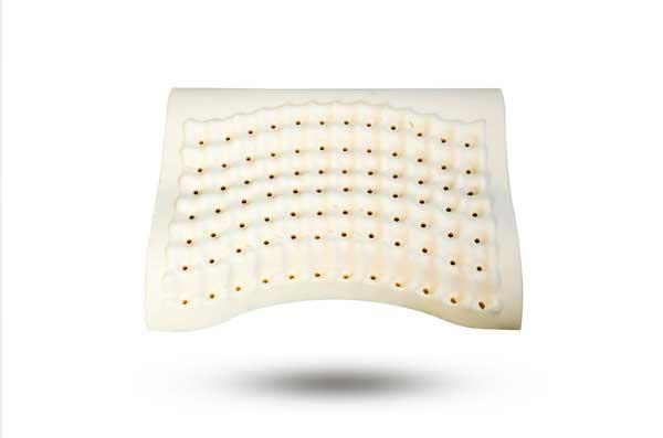 赛泰天然乳胶按摩枕